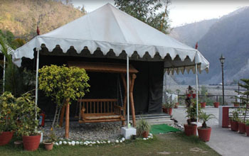 Riverside Camping  in Rishikesh by Camp Aqua Forest Rishikesh Rishikesh
