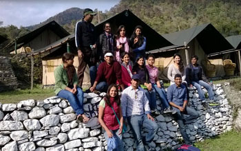 Camp in Rishikesh at Camp Footloose