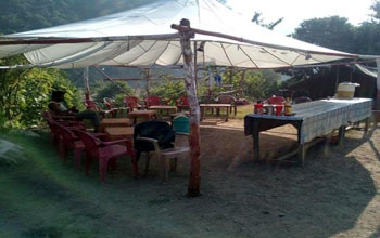Camping Near river in Rishikesh at Camp River Zone