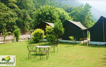 Adventure Camping at Rishikesh at Rendezvous Rafters Camp