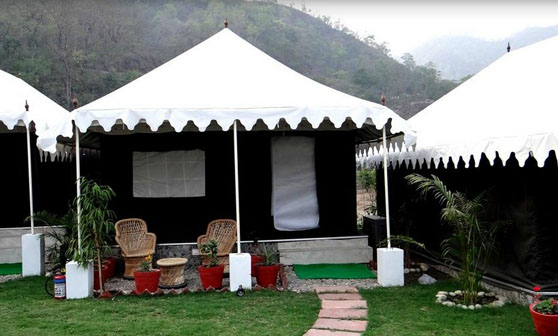Riverside Camping  in Rishikesh