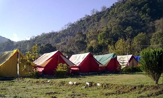 Adventure Camping at Rishikesh